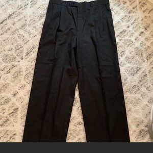 Burberry men's slacks gray